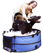 Portable Dog Tub