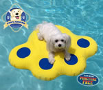 Small Dog Pool Float Raft - Puncture Resistant
